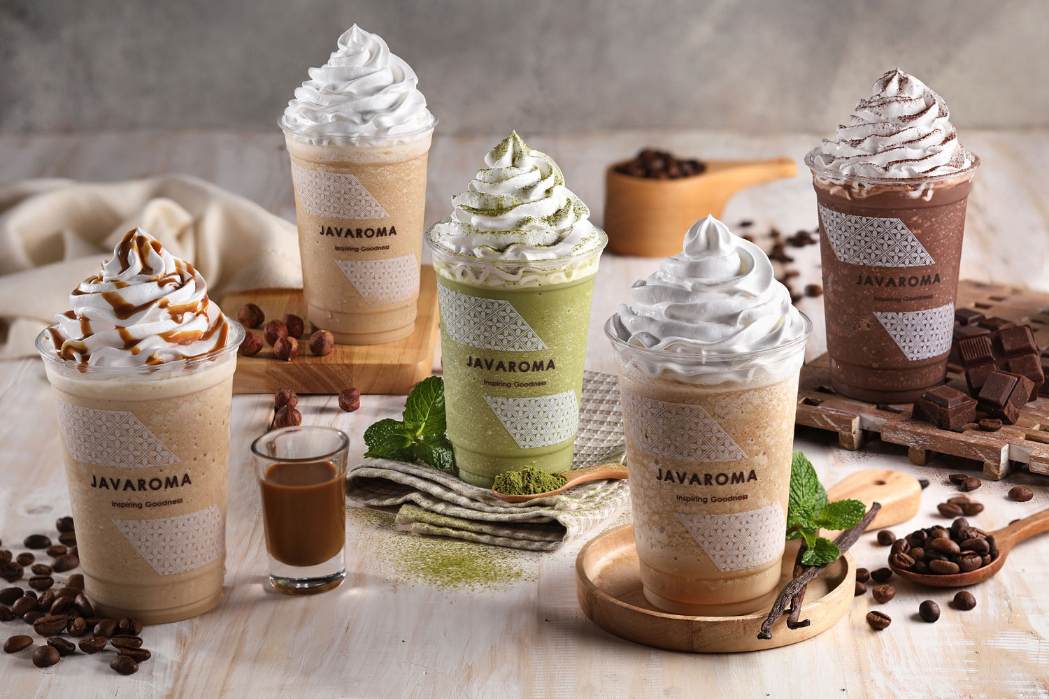 Just look at those mountain of happiness. And yes, the taste does as sweet as it looks, creamy and lots of fun. So, no matter how hard things were, have a frappe and be happy, folks!